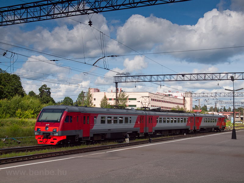 The RŽD DT1 009 seen a photo