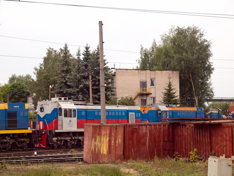 Shunting locomotives at Tve photo