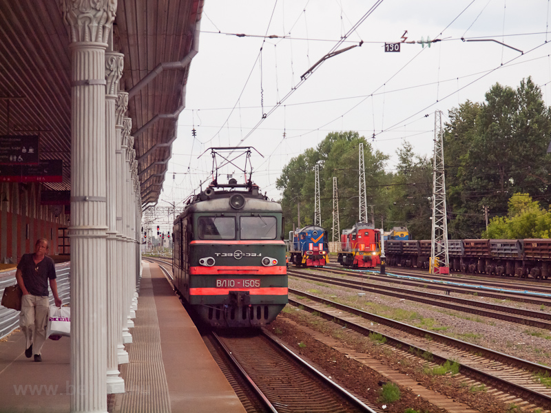 The RŽD VL10 1505 seen photo