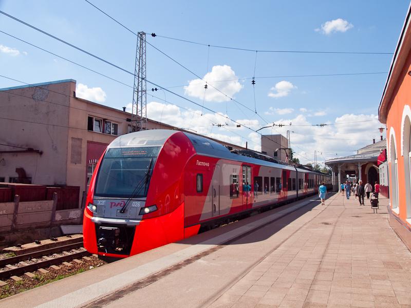 The RŽD ES2G 026 Lasto photo