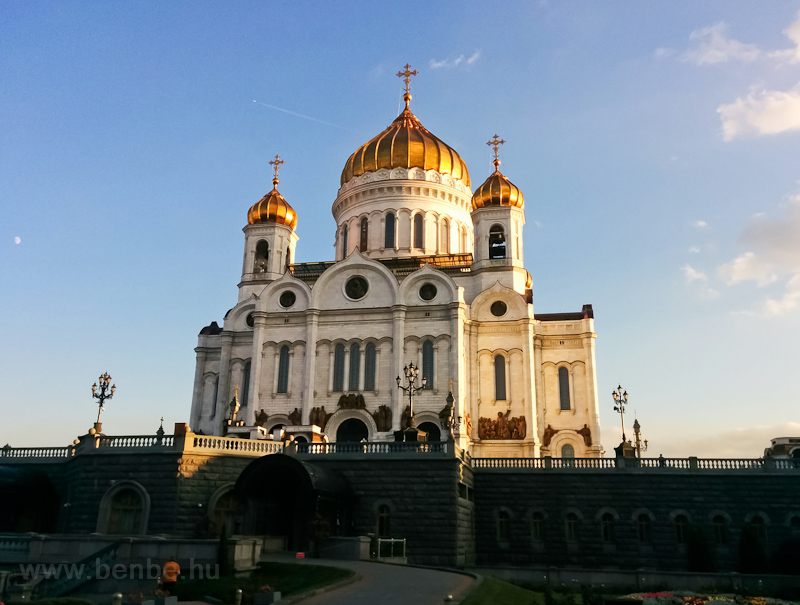 Moscow, Cathedral of Christ photo