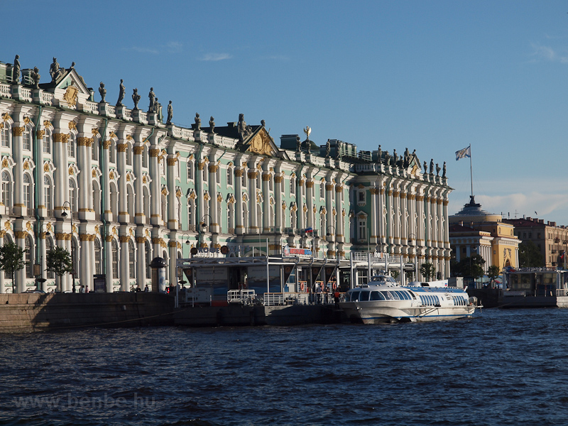 The Hermitage Museum on the picture