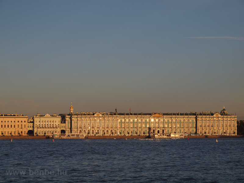 St. Petersburg from the Nev photo