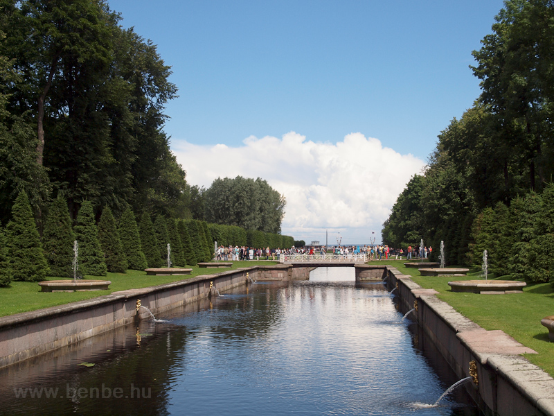 Petrodvorets or Peterhof, t photo