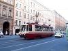 Helyi gyártású villamos Szentpétervárott