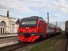 Az RŽD DT1 009 Luga állomáson