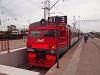 Az RŽD ET2M 111 Tver állomáson
