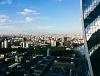 Kilátás egy moszkvai felhőkarcolóból