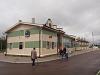 A szentpétervári Déli Gyermekvasút Cárszkoszelszkaja végállomása a vonal déli végén