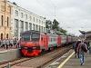 A RŽD ED4M 0360 St Petersburg Finlandszkíj állomáson