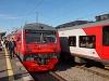 A RŽD ED4M 0424 Szentpétervár Finlandjszkíj pályaudvaron