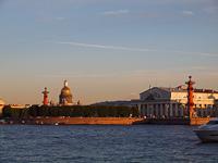 Szentpétervár a Néváról