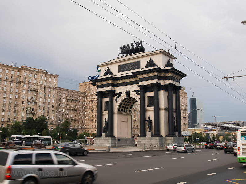 The Grand Triumphal Arch Celebrates the victory over Napoleon in the war of 1812 photo
