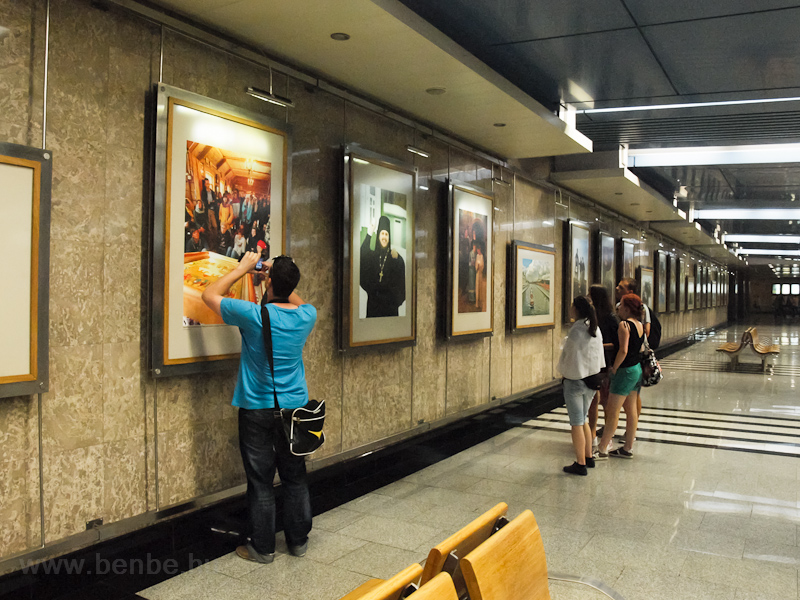 Photo exhibition at Vystavochnaya station photo