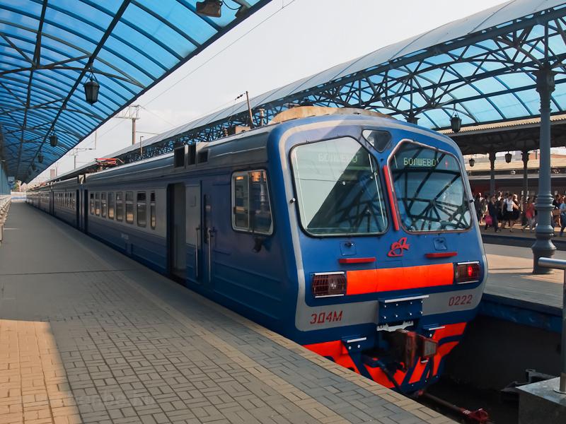 Az RŽD ED4M-0222 Moszk fotó
