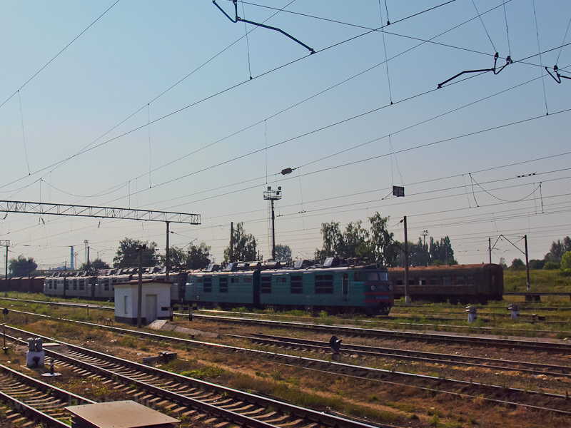 UŽ VL80-asok Nizsin állomáson fotó