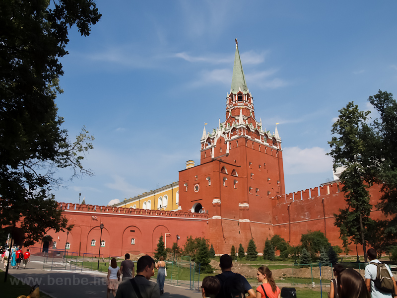 The entrance of the Kremlin from the direction of the Alexander gardens photo