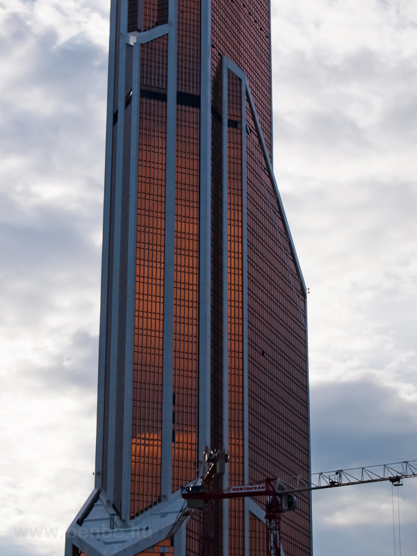 Skyscraper in Moscow photo
