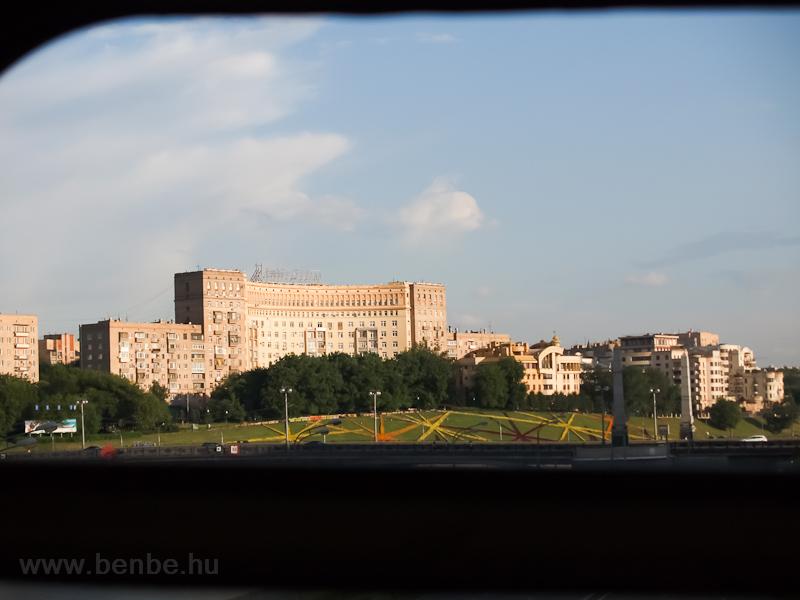 Kijevszkaja a metróból nézve fotó