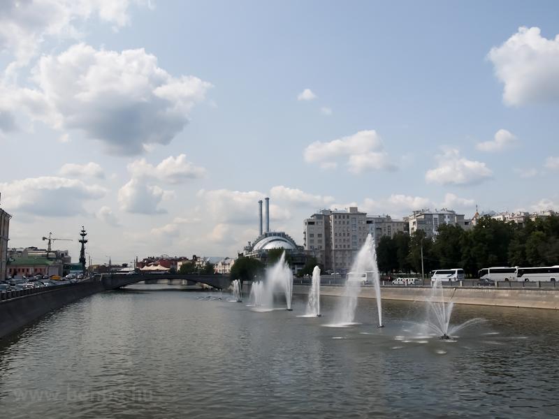 Szökökutak a Moszkva egyik  fotó