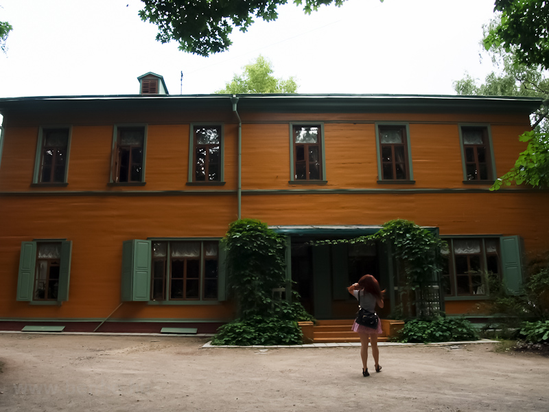 Tolstoy's Moscow house photo