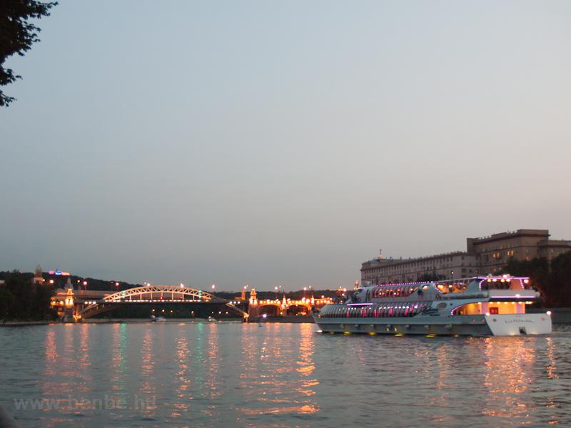 A Moszkva-folyó este fotó