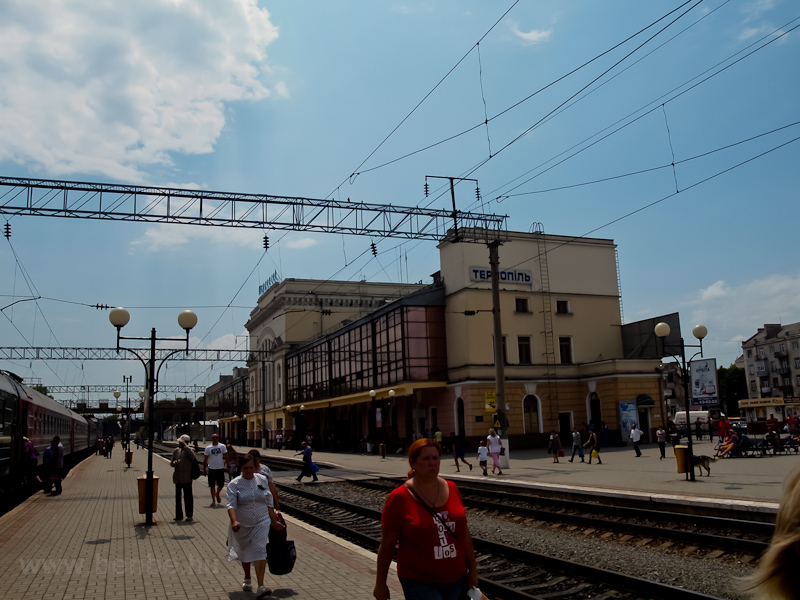 Ternopil állomás, Ukrajna fotó