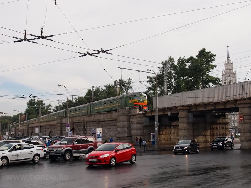S-Bahn Moszkva: a Komszomol fotó