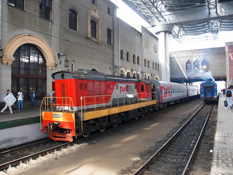 Az RŽD ЧМЭ3-6729 Moszkva Kazanszkíj pályaudvaron fotó