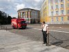 A Coca-Cola truck in the Moscow Kremlin - ideology seems to be in a decline
