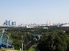 The view of Moscow from Vorobyovy Gory