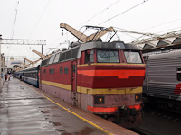 The ChS2T-1019 (ЧС2T-1019) at Moscow Leningrad station