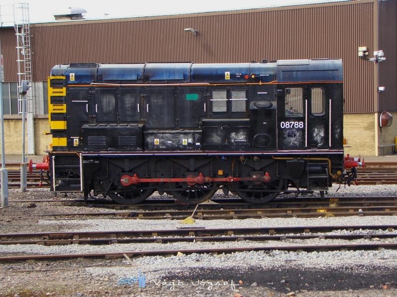 Ez a szépség, pedig a Class 08 788, ami egy 1953-62 között született tolatómozdony család tagja fotó