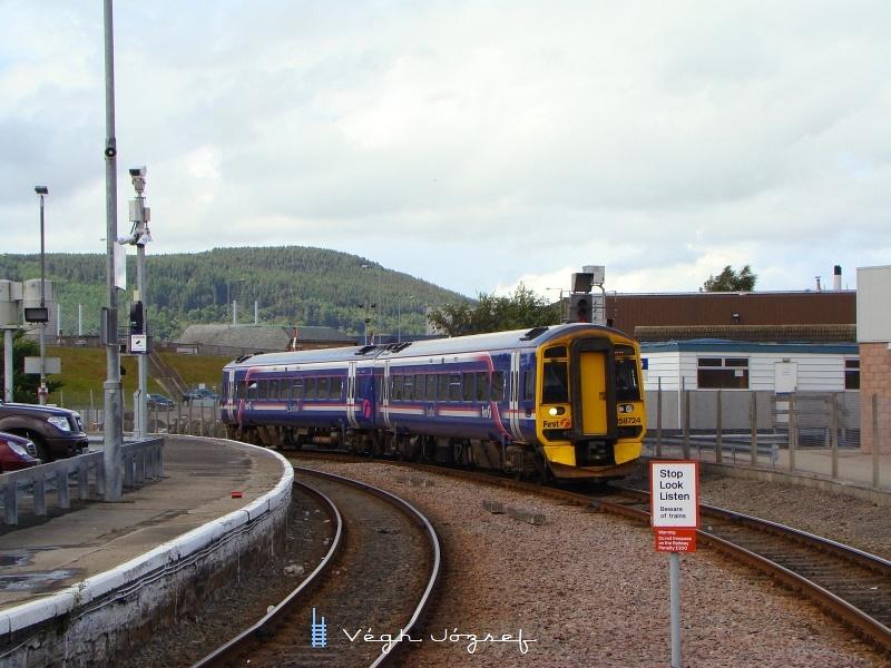 A 158 724 Wickből érkezik Inverness-be fotó