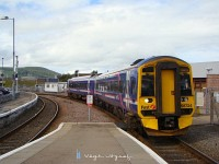 The 58 724 at Inverness