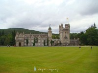 Balmoral Royal castle, the old terminus of the line