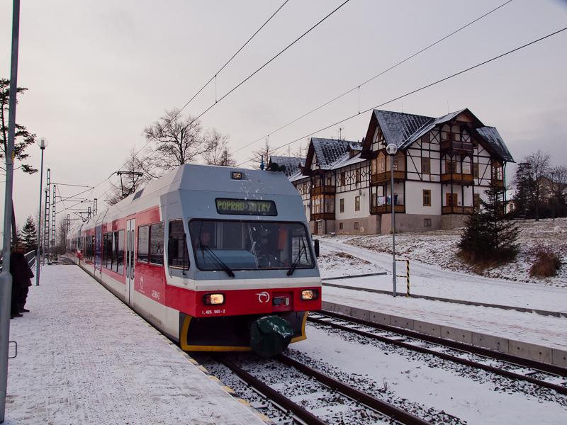 A ŽSSK-TEŽ 425 960-2 Tátraszéplak állomáson fotó