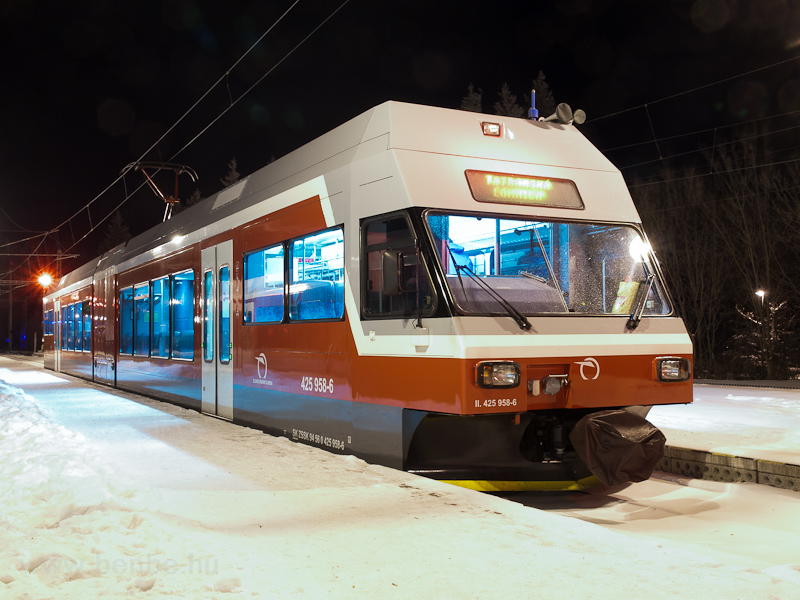 The ŽSSK 425 958-6 see picture