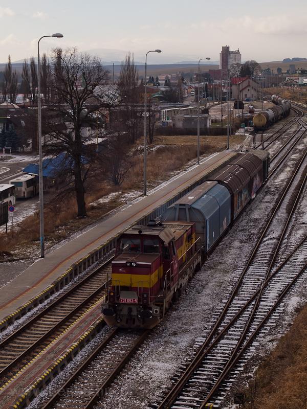 A ŽSSKC 731 053-5 Késmárk (KeŽmarok) állomáson fotó