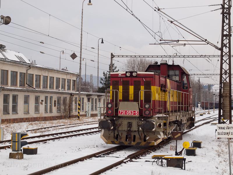 A ŽSSKC 731 053-5 Plav fotó
