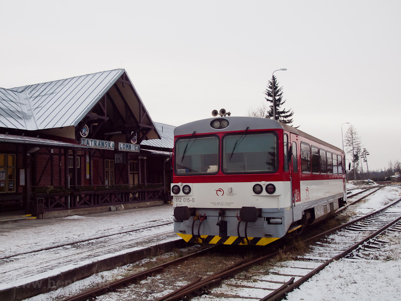 The ŽSSK 812 015-0 see photo