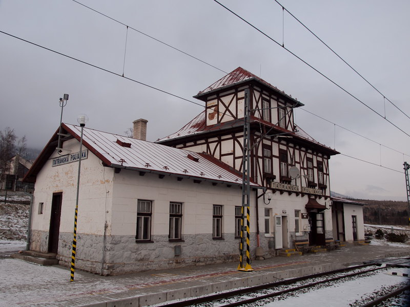 Railway station at Tatransk photo