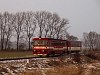 A ŽSSK 812 019 Fulyán (Fulianka) és Kapušany pri Prešove között