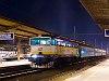 A ČD (České Dráhy) 754 019-8 Zólyom állomáson
