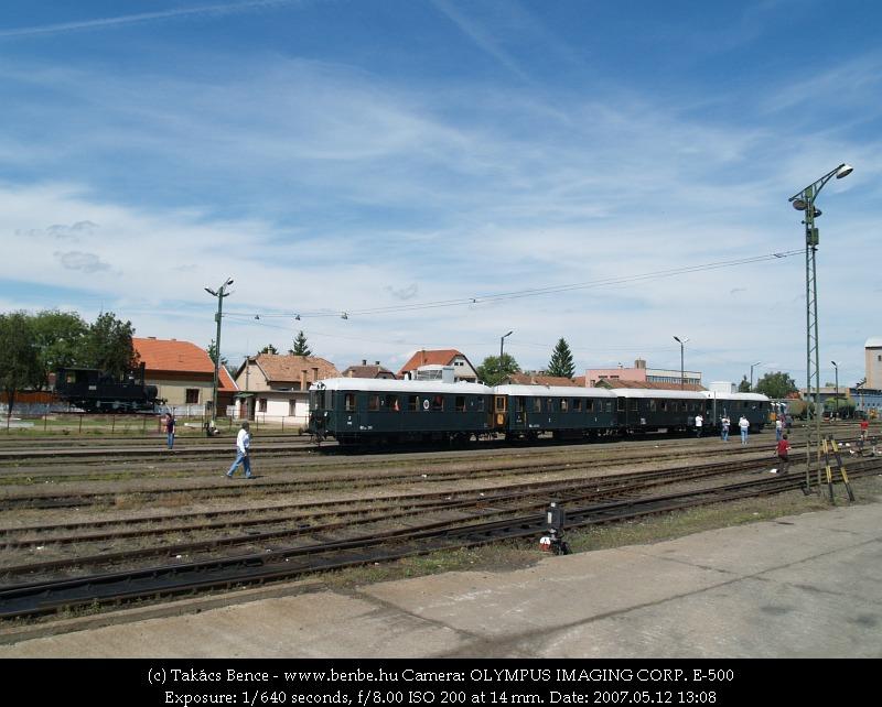 BCmot vonatunk Balassagyarmaton fotó