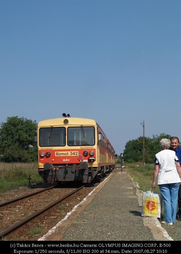 Bzmot 342 Galgagután fotó