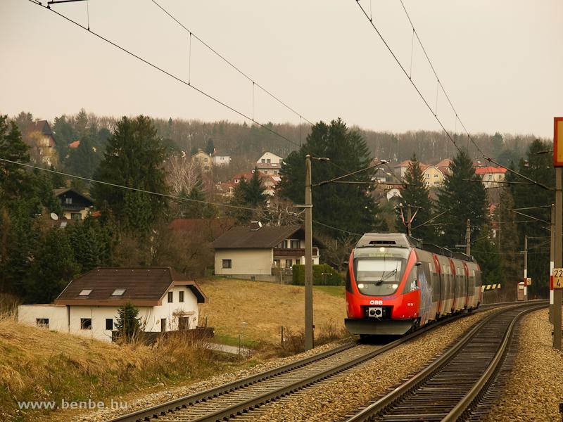 Rekawinkelbe közlekedő S-Bahn Talent Dürrwiennél fotó