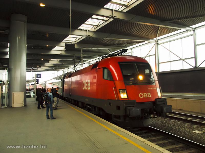 Az ÖBB 1116 170-0 Praterstern állomáson fotó