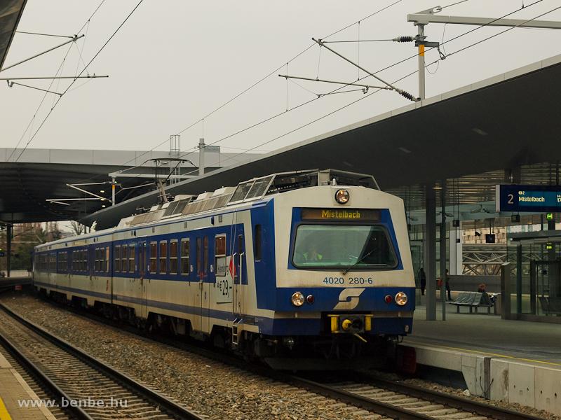 Az ÖBB 4020 280-6 Bécs Prat fotó
