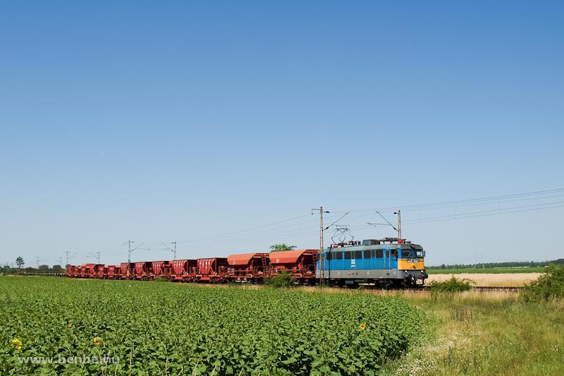 A MÁV V43 1028 Adács és Karácsond között a Hatvan Rendező - Füzesabony tolatós tehervonattal fotó